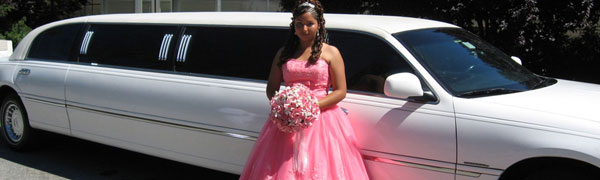 Best Quinceanera Limousine Packages By Pilot Limos in locations Riverside, Orange County, Inland Empire, Corona, Fontana, Ontario, Redlands amd Rancho Cucamonga California